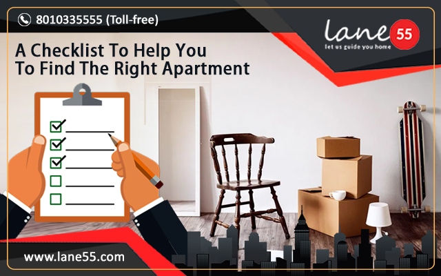 A Checklist To Help You To Find The Right Apartment