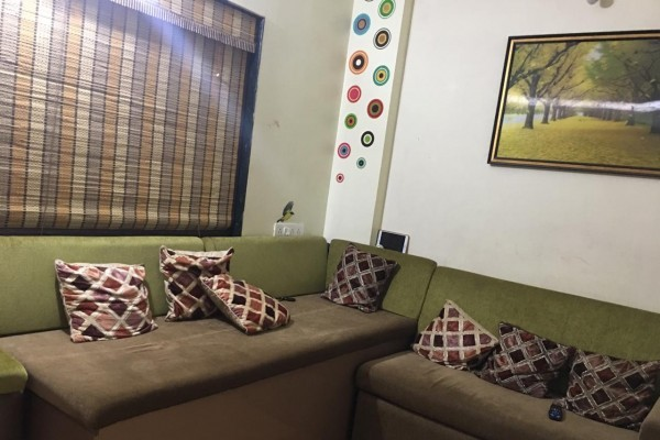 Semi-Furnished 1 BHK Flat For Sale